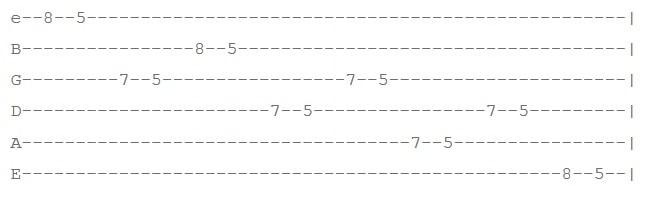 عکس تمرین 3 افزایش سرعت گیتار