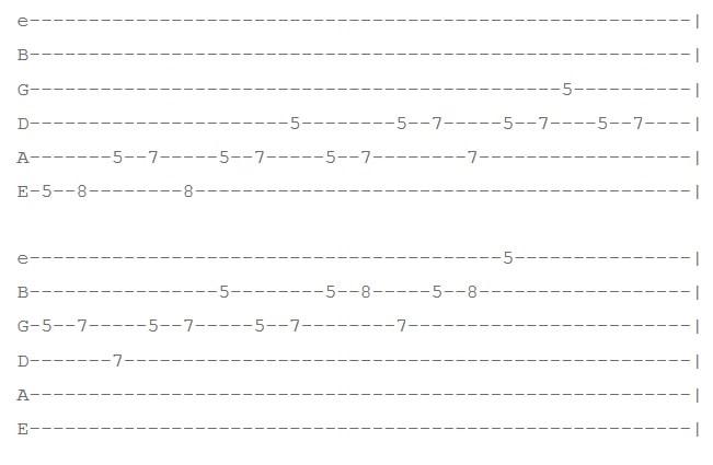 تمرین 1 افزایش سرعت گیتار