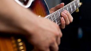 تمرین بند گیتار الکتریک