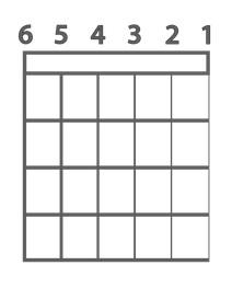 شماره سیم گیتار