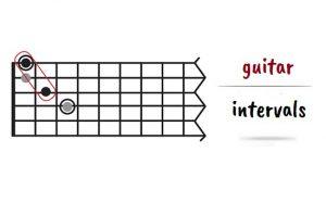 فاصله در گیتار
