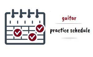 برنامه روزانه تمرین گیتار