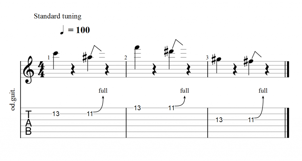 تمرین یک جو ساتریانی